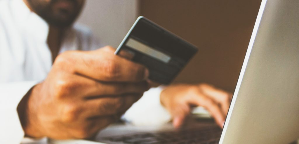 Entering banking details for a website in africa